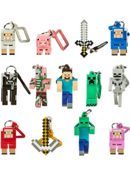 HANGER-MINECRAFT-LLAVERO-JUST-TOYS-3