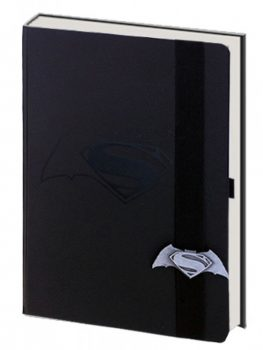 LIBRETA BATMAN VS SUPERMAN BLACK