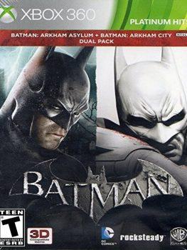 DUAL-PACK-BATMAN-ASYLUM-Y-ARKHAM-CITY-XBOX-360