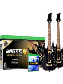 GUITAR-HERO-LIVE-BUNDLE-2-GUITARRAS-SUPREME-EDITION-500SONGS -XBOX-ONE