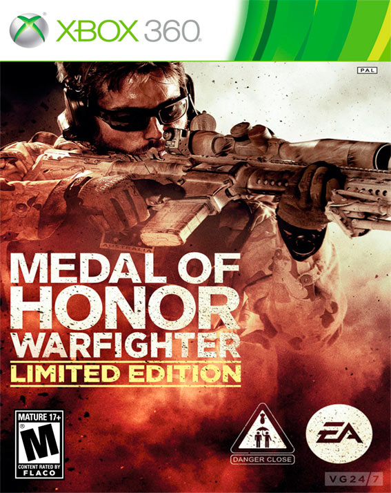 how to play medal of honor warfighter with gamepad