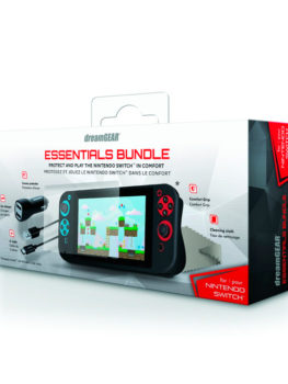 ESSENTIAL-BUNDLE-DREAMGEAR-CARGADOR-Y-PROTECTOR-DE-SILICON-NINTENDO-SWITCH