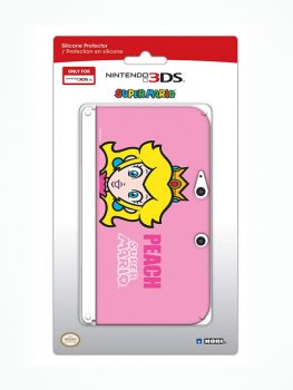 PEACH-SILICONE-PROTECTOR-3DS2