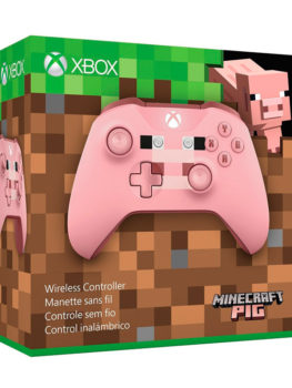 CONTROL-INALAMBRICO-XBOX-ONE-PUERCO-PIG-MINECRAFT