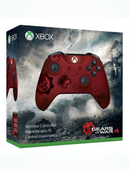 WIRELESS-CONTROLLER-EDITION-GEARS-OF-WAR-4-ROJO-XBOX-ONE-75321456987