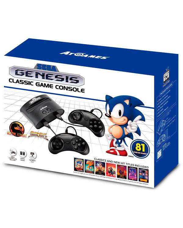 RETRO-CONSOLA-SEGA-GENESIS-CLASSIC-GAME-CONSOLE-81-GAMES