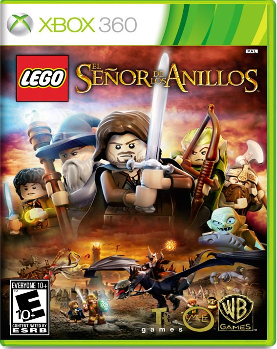 Lego The Lord Of The Rings Xbox 360 Game Cool Tienda De