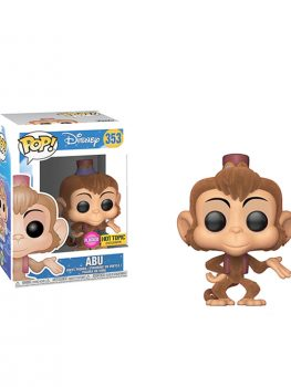 ABU 353 DISNEY POP FLOCKED HOT TOPIC EXCLUSIVE