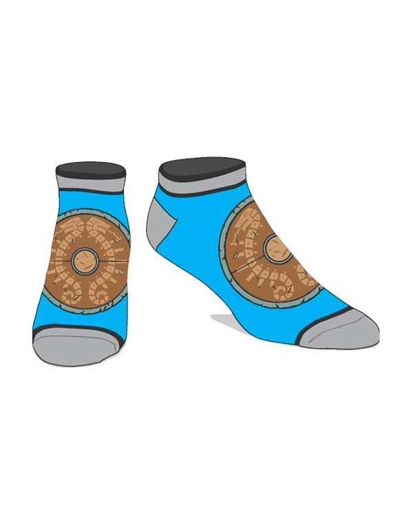 CALCETINES ZELDA BREATH OF THE WILD AZUL ESCUDO - Game Cool ... 134dbcca40a